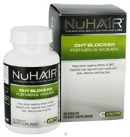 Image of Nu Hair - DHT Blocker For Men & Women - 60 Tablets Formerly by Biotech Labs