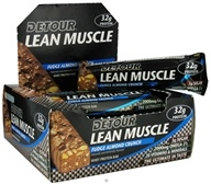 Forward Foods - Detour Lean Muscle Bar Fudge Almond Crunch - 3.2 oz.