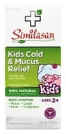 Similasan - Kids 2-12 Cold & Mucus Relief Cough Expectorant Syrup - 4 oz.