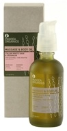 Pangea Organics - Massage & Body Oil Restorative Italian White Sage & Geranium - 4 oz.