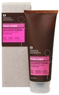 Image of Pangea Organics - Facial Scrub For All Skin Types Egyptian Geranium With Adzuki Bean & Cranberry - 3.8 oz.