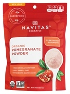 Navitas Naturals - Pomegranate Power Organic Freeze Dried Pomegramate Powder - 8 oz. by Navitas Naturals