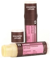 Pangea Organics - Ecocentric Lipcare Lip Balm Italian Red Mandarin With Rose - 0.25 oz.