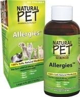 King Bio - Natural Pet Allergies For Felines Large - 4 oz.