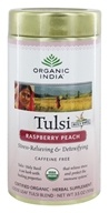 Organic India - Tulsi Loose Leaf Tea Raspberry Peach - 3.5 oz.