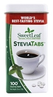 SweetLeaf - Sweetener Stevia Tabs - 100 Tablet(s)