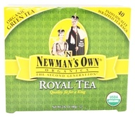 Image of Newman's Own Organics - Organic Royal Green Tea - 40 Tea Bags