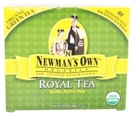 Newman's Own Organics - Organic Royal Green Tea - 40 Tea Bags ...