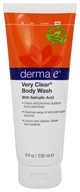 Image of Derma-E - Very Clear Problem Skin Body Wash - 8 oz.