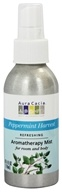 Aura Cacia - Aromatherapy Mist For Room and Body Refreshing Peppermint Harvest - 4 oz. (051381882402)