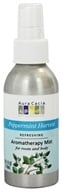 Image of Aura Cacia - Aromatherapy Mist For Room and Body Refreshing Peppermint Harvest - 4 oz.