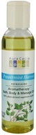 Aura Cacia - Aromatherapy Bath, Body & Massage Oil Refreshing Peppermint Harvest - 4 oz., from category: Aromatherapy