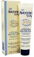 Image of Aveeno - Baby Soothing Relief Diaper Rash Cream Fragrance Free - 3.7 oz.