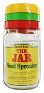 Sprout-Eease - The Jar Seed Sprouter - 1 qt. by Sprout-Eease