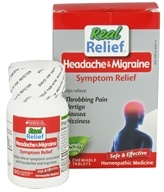 Homeolab USA - Migraine Relief - 63 Chewable Tablets