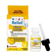 Homeolab USA - Kids 0-9 Allergy Banana Flavor - 0.85 oz.