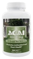 Good 'N Natural - Acai 1000 mg With Green Tea 500 mg - 120 Softgels (698138276345)