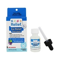 Homeolab USA - Kids 0-9 Earache Grape Flavor - 0.85 oz. by Homeolab USA