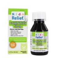 Homeolab USA - Kids Relief Cough & Cold Syrup - 3.4 oz.