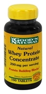 Good 'N Natural - Natural Whey Protein Concentrate 200 mg. - 100 Tablets (698138450912)