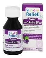 Homeolab USA - Kids 0-9 Calm Grape Flavor - 3.4 oz. by Homeolab USA