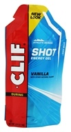 Clif Bar - Shot Energy Gel Vanilla - 1.2 oz. (722252176240)