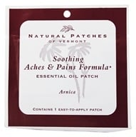 Natural Patches of Vermont - Aromatherapy Body Patch Essential Oil Blend Arnica - Formerly Naturopatch - $1.56