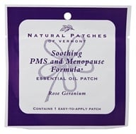 Image of Natural Patches of Vermont - Aromatherapy Body Patch Essential Oil Blend Rose Geranium - Formerly Naturopatch