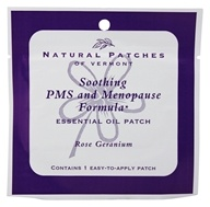 Natural Patches of Vermont - Aromatherapy Body Patch Essential Oil Blend Rose Geranium - Formerly Naturopatch by Natural Patches of Vermont