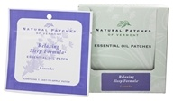 Natural Patches of Vermont - Aromatherapy Body Patch Essential Oil Blend Lavender - Formerly Naturopatch by Natural Patches of Vermont
