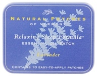 Natural Patches of Vermont - Aromatherapy Body Patch Essential Oil Blend Lavender - 10 Patch(es) Formerly Naturopatch by Natural Patches of Vermont