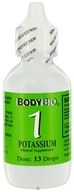 Body Bio - Liquid Minerals Potassium 1 - 2 oz.