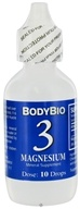 Body Bio - Liquid Minerals Magnesium 3 - 2 oz. - $10.77