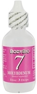 Body Bio - Liquid Minerals Molybdenum 7 - 2 oz. (101536)
