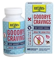 Natural Max - Goodbye Cravings Break The Sugar Cycle - 60 Vegetarian Capsules (047868651159)