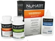 Nu Hair - Hair Regrowth System For Men 30 Day Kit - Formerly by Biotech Labs (733530420009)