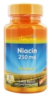 Thompson - Niacin Vitamin B-3 250 mg. - 60 Tablets - $2.19