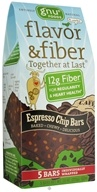 Gnu Foods - Flavor & Fiber Bars Pack Espresso Chip - 5 Bars