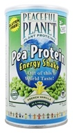 Image of VegLife - Peaceful Planet Pea Protein Energy Shake Unsweetened French Vanilla - 18.9 oz.