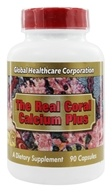 Global Healthcare - The Real Coral Calcium Plus - 90 Capsules - $11.95
