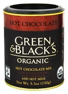 Green & Black's Organic - Hot Chocolate Drink With Bittersweet Dark Chocolate - 5.3 oz., from category: Health Foods