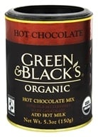 Green & Black's Organic - Hot Chocolate Drink With Bittersweet Dark Chocolate - 5.3 oz. (708656100258)