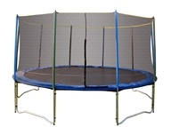 Image of Pure Fun Trampolines - Trampoline Set with Enclosure and Safety Net 9015TS - 15 ft.