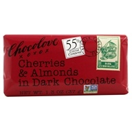 Chocolove - Dark Chocolate Mini Bar Cherries & Almonds - 1.3 oz. by Chocolove