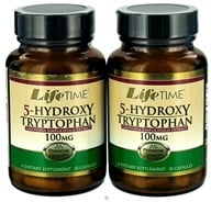 LifeTime Vitamins - 5-Hydroxy Tryptophan (30+30) Twin Pack 100 mg. - 60 Capsules by LifeTime Vitamins