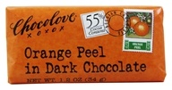 Image of Chocolove - Dark Chocolate Mini Bar Orange Peel - 1.2 oz.