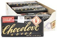 Chocolove - Strong Dark Chocolate Mini Bar - 1.3 oz. (716270051702)