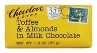 Chocolove - Milk Chocolate Mini Bar Toffee & Almonds - 1.3 oz. - $1.22