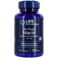 Life Extension - No Flush Niacin 800 mg. - 100 Capsules - $14.25