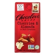 Chocolove - Dark Chocolate Bar Cherries & Almonds - 3.2 oz. by Chocolove